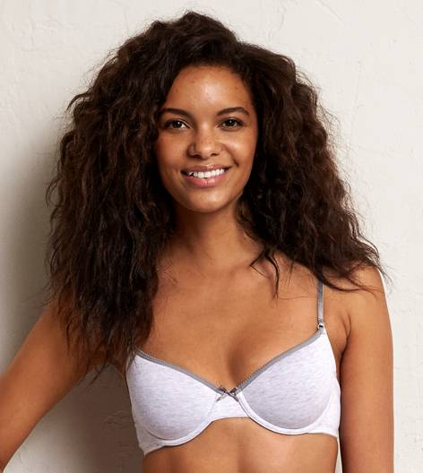 Light Heather Grey Hannah Multi-Way Lightly Lined Bra