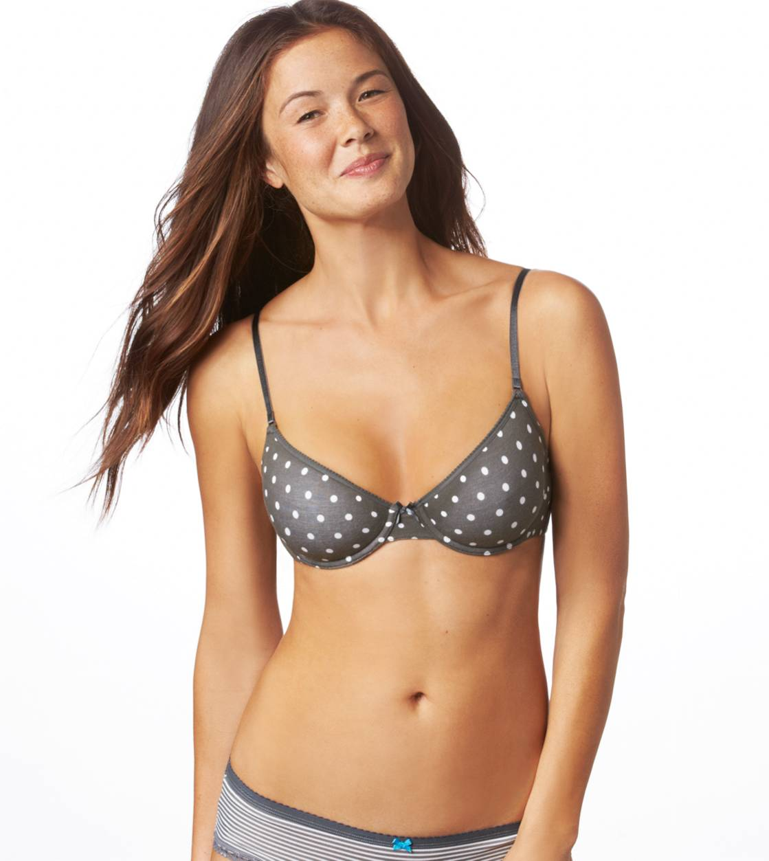 Gunmetal Hannah Multi-Way Lightly Lined Bra