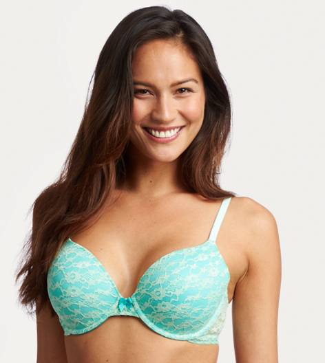Mist Green Sofie Lightly Lined Bra