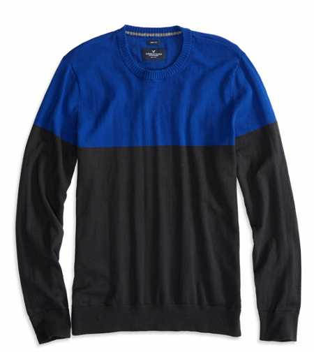 AE Colorblock Sweater