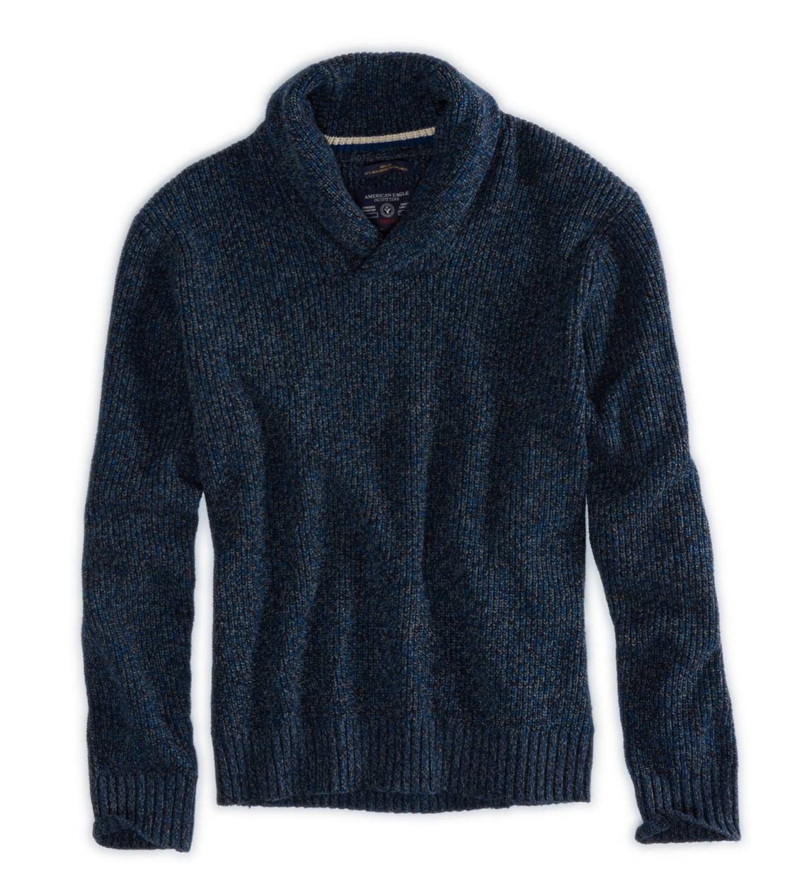 Deep Deep Navy AE Softest Sweater