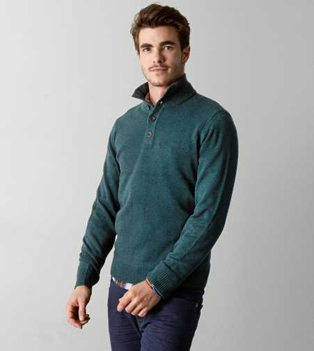 AEO Combed Mock Neck Sweater - Buy One Get One 50% Off