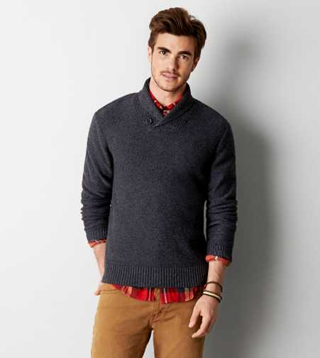 AEO Shawl Collar Sweater - Buy One Get One 50% Off