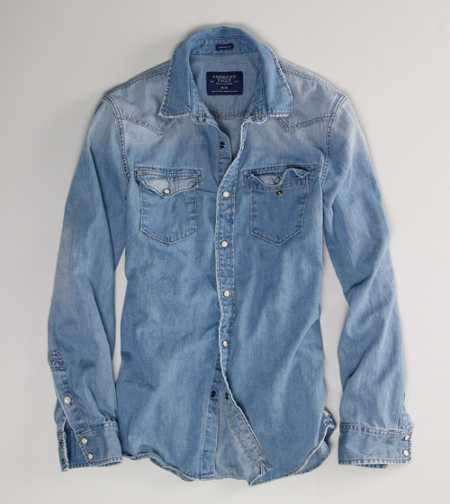 AE Denim Western Shirt - Vintage Fit