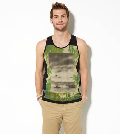 True Black AEO Photo Real Tank