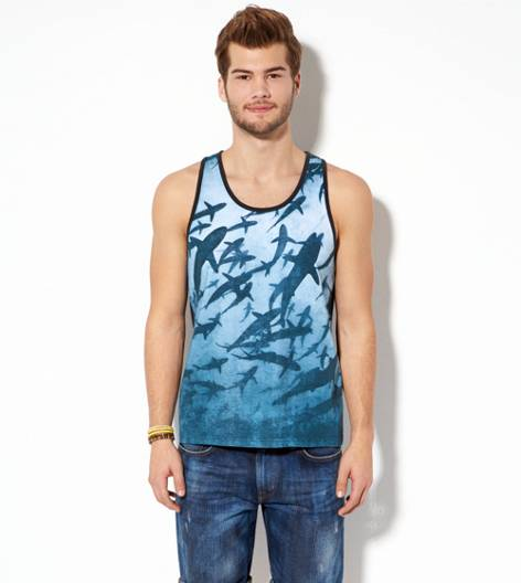 White  AEO Photo Real Tank