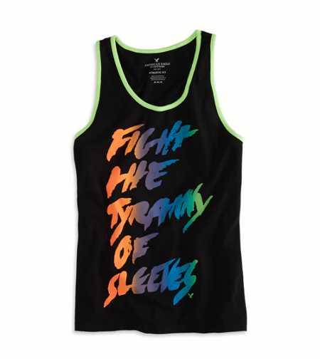 AE Bold Graphic Ringer Tank - Buy One Get One 50% Off