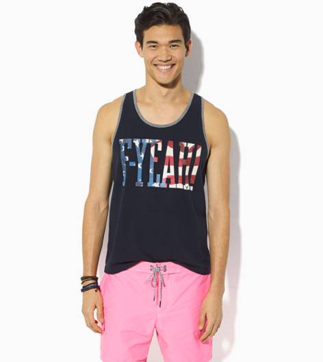 Fleet Navy AEO F-Yeah Graphic Tank