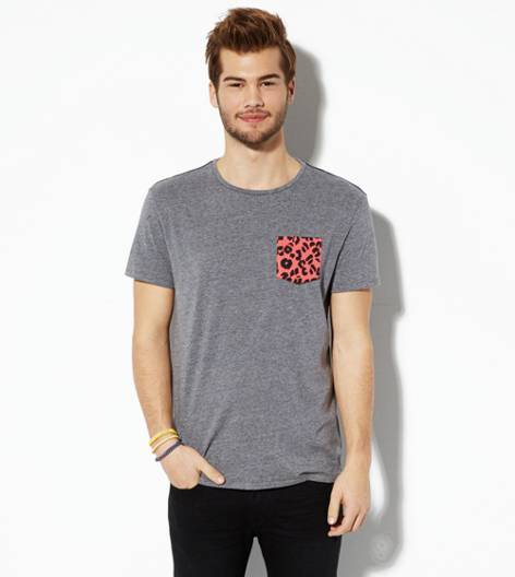Gravel AEO Vintage Pocket T-Shirt