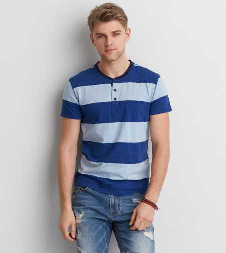 AEO Stripe Henley - Buy One Get One 50% Off