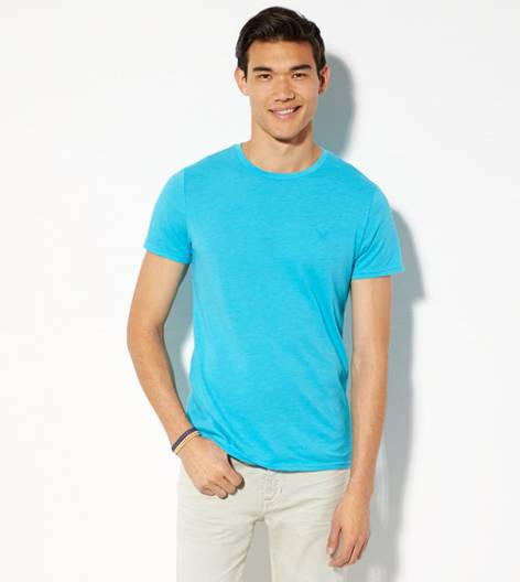 Tidal Blue AEO Legend Crew T-Shirt