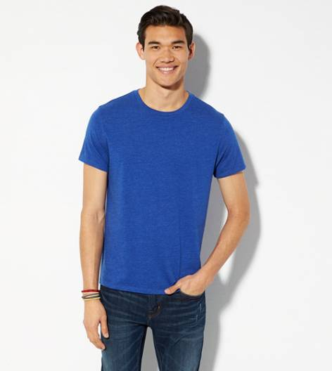 Dream Blue AEO Legend Crew T-Shirt