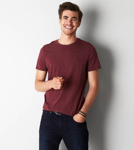 Wineberry AEO Legend Crew T-Shirt