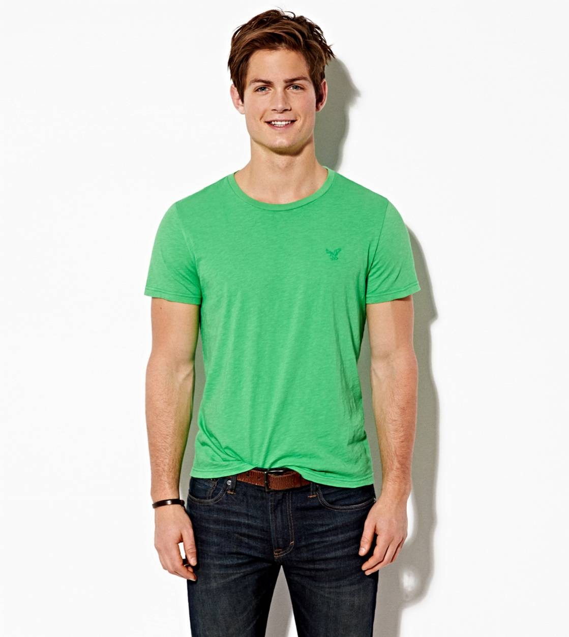 Tropic Green AE Legend Crew T-Shirt