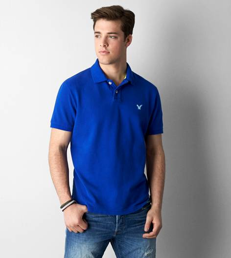 Dream Blue AEO Solid Polo
