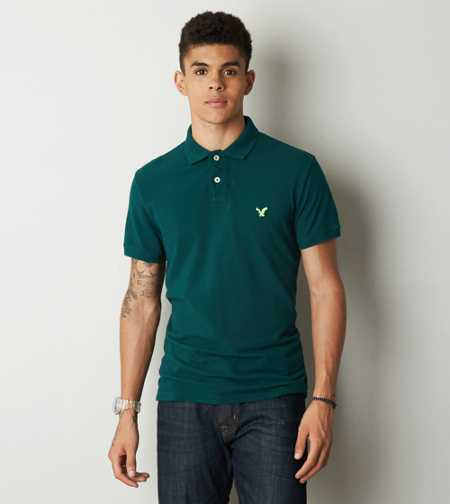 AEO Solid Polo