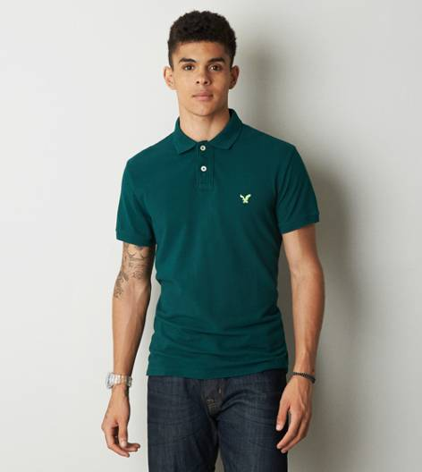 Jade AEO Solid Polo