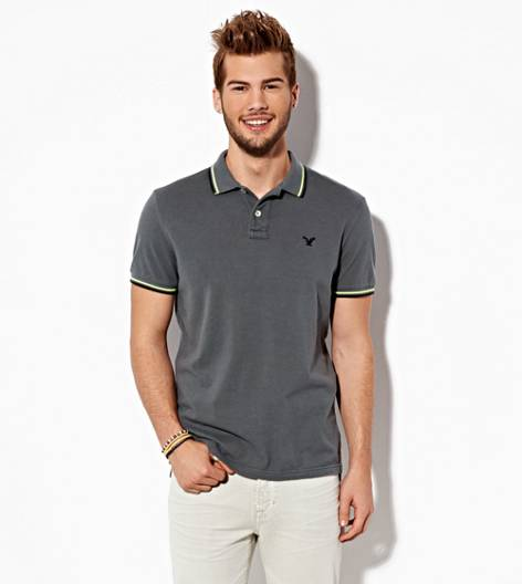 Grey Branch AEO Double Tipped Polo