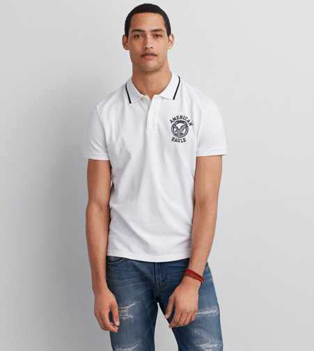 AEO Signature Graphic Polo  - Buy One Get One 50% Off