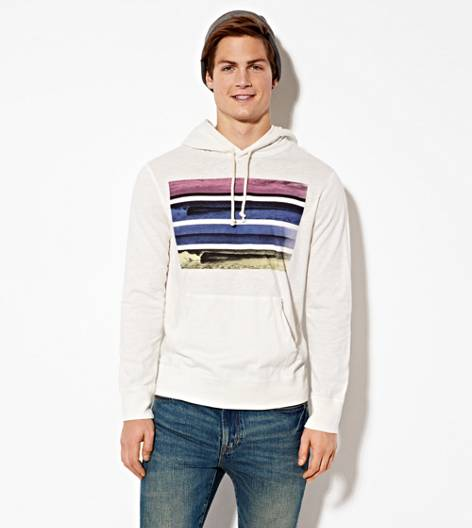 Chalk AEO Photo Real Hoodie T-Shirt