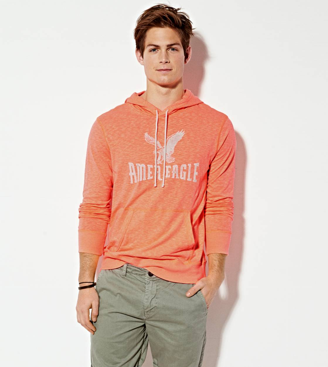 Safe Orange AE Signature Hoodie T-Shirt