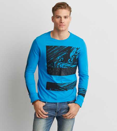 AEO Long Sleeve Graphic T-Shirt