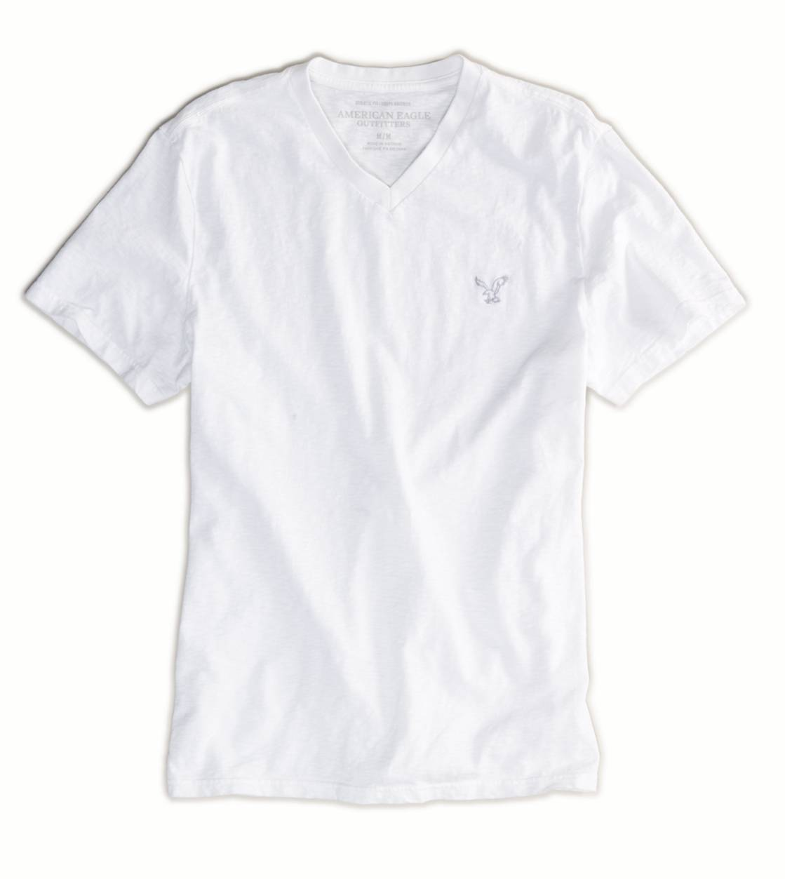 White  AE Legend V-Neck T-Shirt
