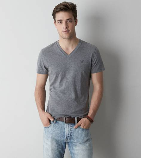 Gravel AEO Legend V-Neck T-Shirt