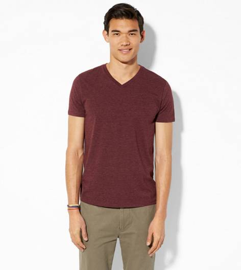 Merlot AEO Legend V-Neck T-Shirt