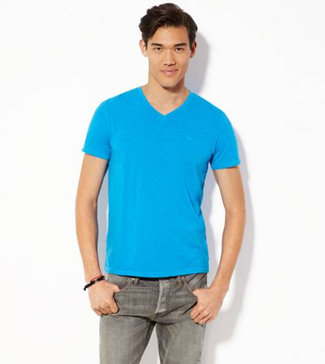 Riptide Aqua AEO Legend V-Neck T-Shirt