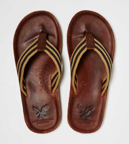 AEO Striped Flip-Flop - Take 40% Off