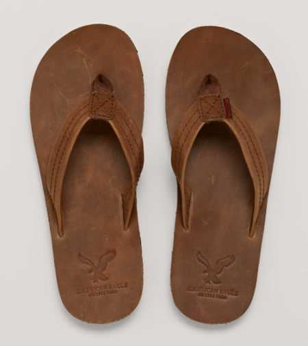 AEO Leather Flip-Flop - Take 40% Off