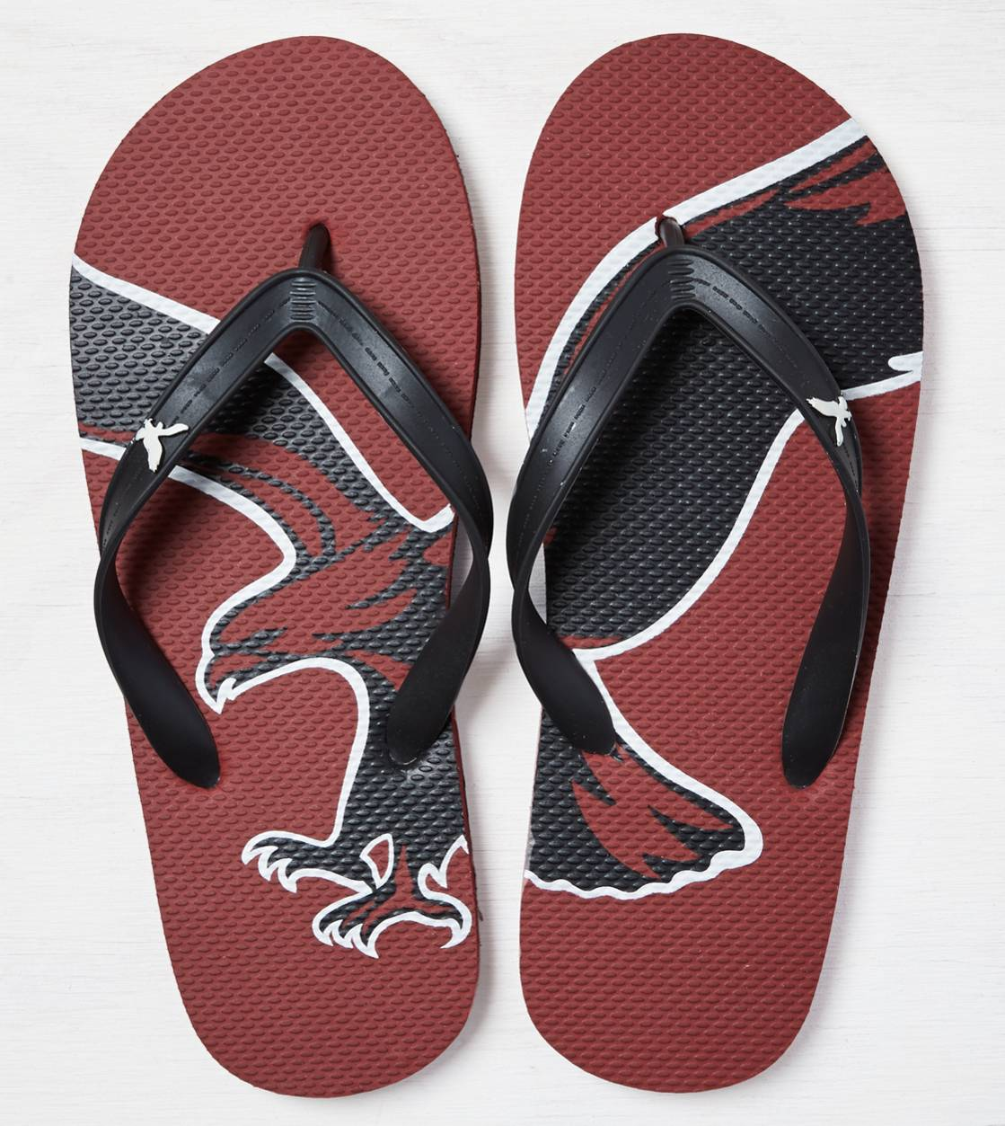 Red AEO Rubber Flip Flop