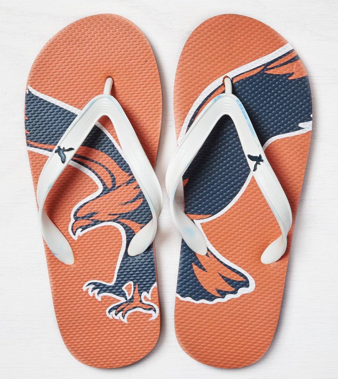 Orange AEO Rubber Flip Flop