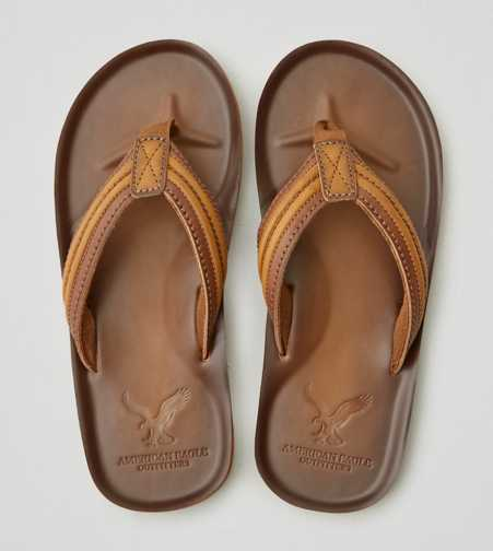 AEO Leather Flip Flop  - Free Shipping
