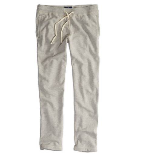 Heather Grey AE Original Straight Sweatpant