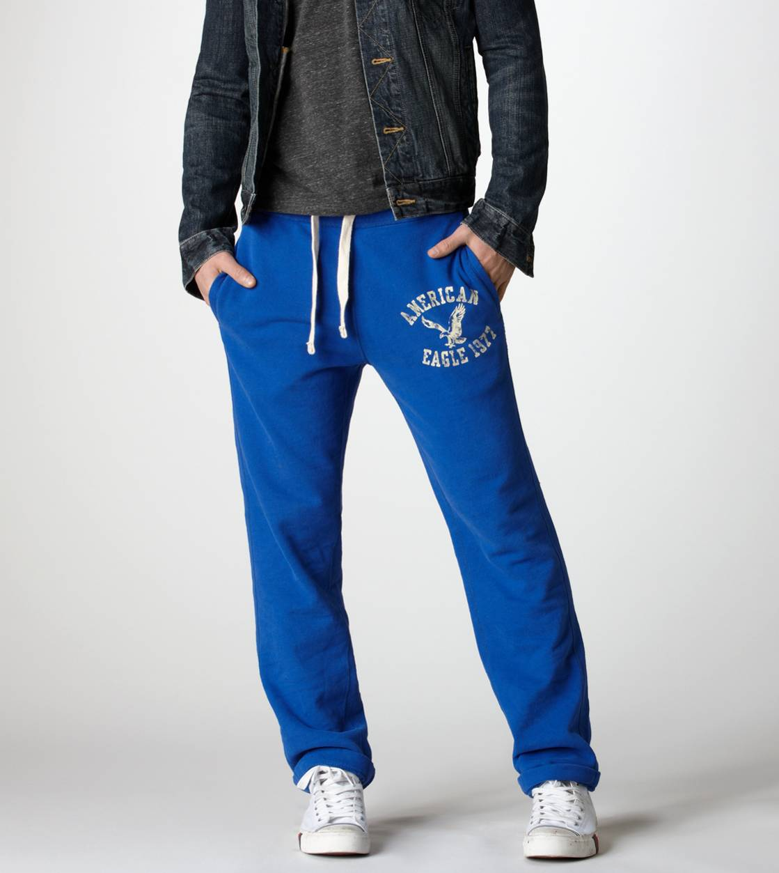 Cobalt Night AE Slim Sweatpant