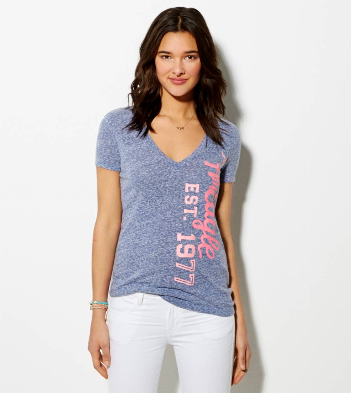 Evening Blue AE Graphic T-Shirt