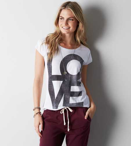 AEO Love Graphic T-Shirt