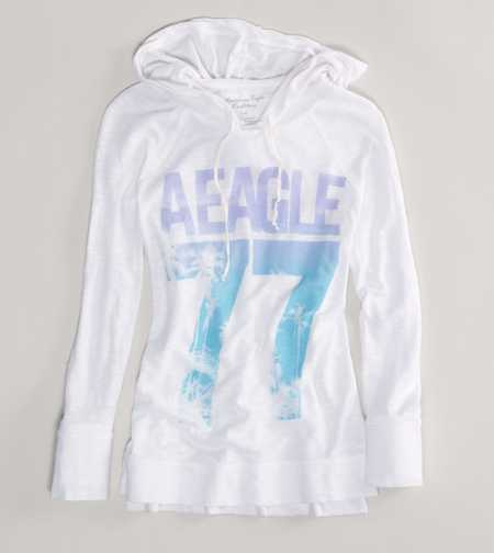 AE Signature Hooded Tee