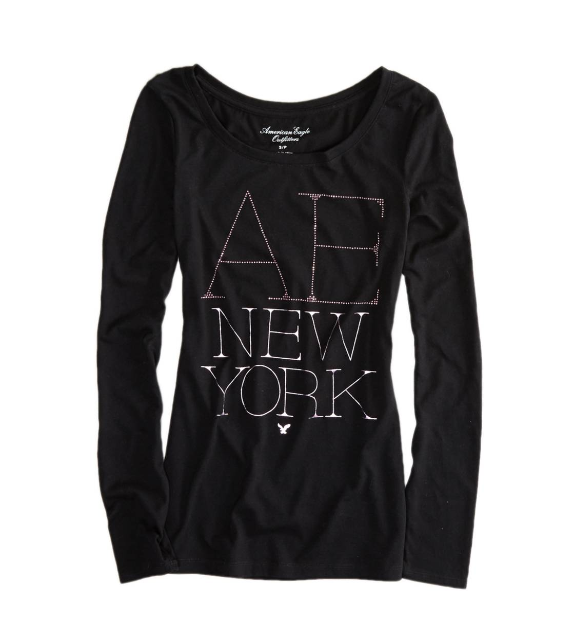 True Black AE NYC Graphic T-Shirt