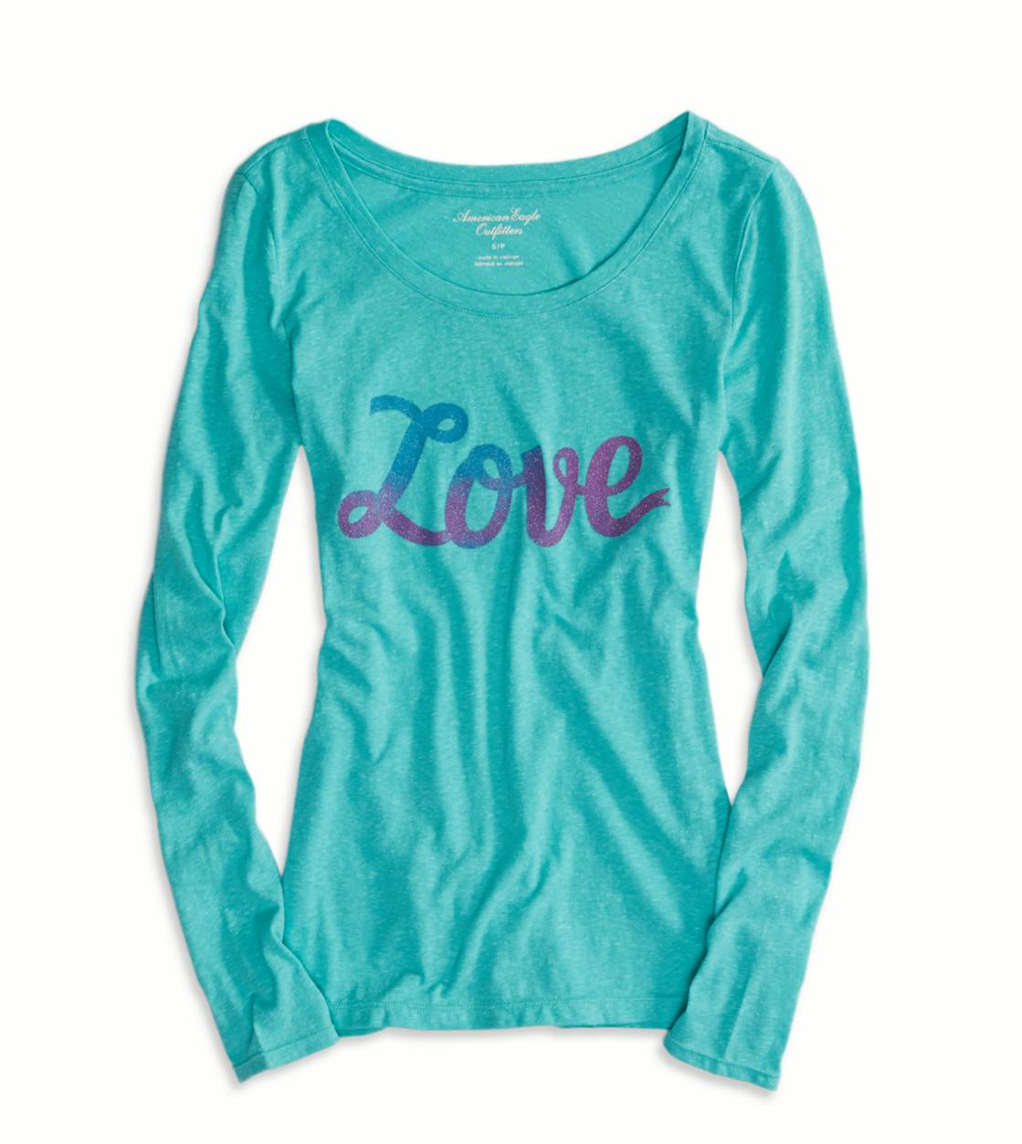 Tidal Foam AE Real Soft Love Graphic T-Shirt