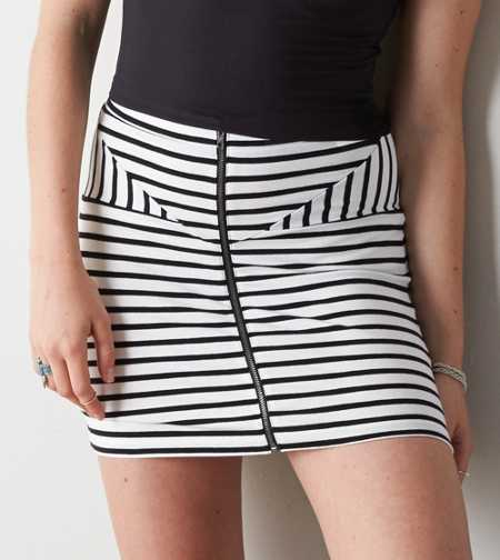 AEO Zip Front Bodycon Skirt