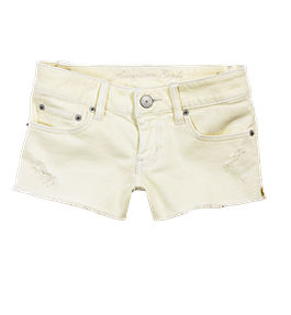 Women s AE Lemon Denim Shortie American Eagle Outfitters from ae.com
