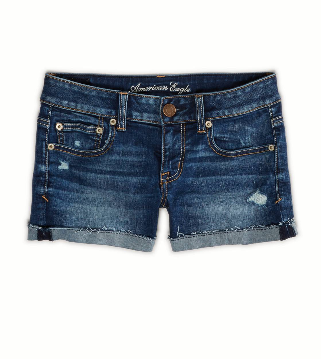 Medium Wash AE Denim Shortie