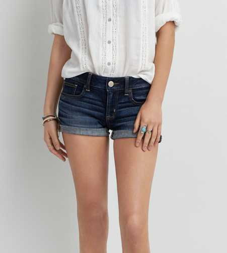 AEO Rolled Denim Shortie