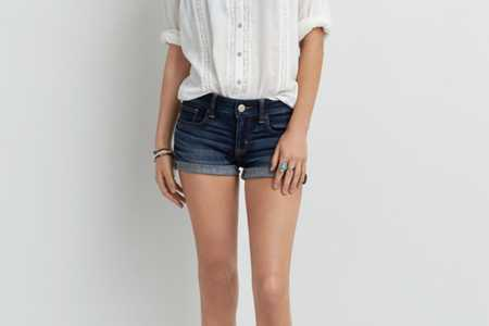 AE Dark Denim Shortie