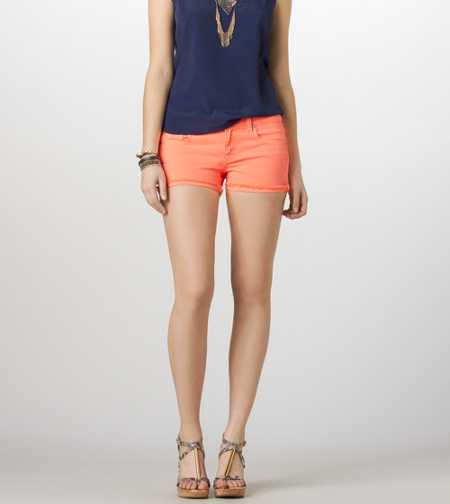 AE Colored Denim Midi Short - Take 40% Off