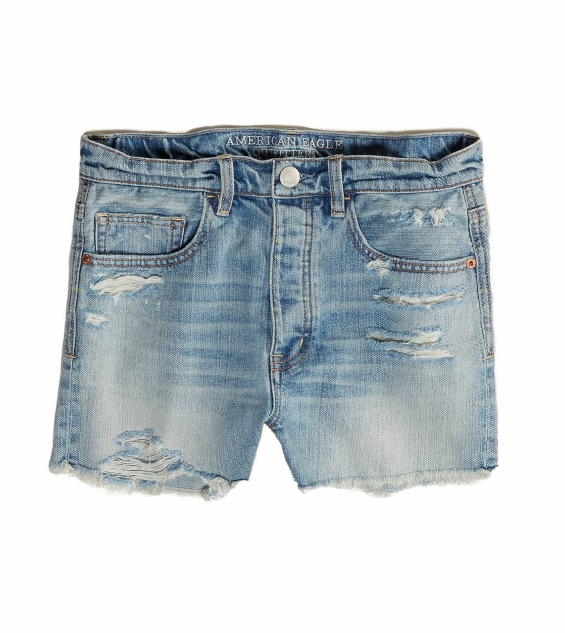 Light Destroy Wash AE Boyfriend Shortie