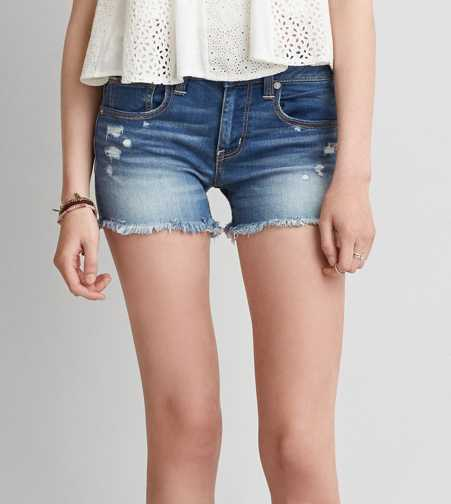 AEO Denim X Midi Short